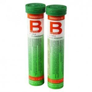 Fennovita B Total Poretabletti 20 Tablettia / 80 G