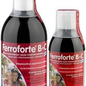 Ferroforte B + C Nestemäinen Rautavalmiste