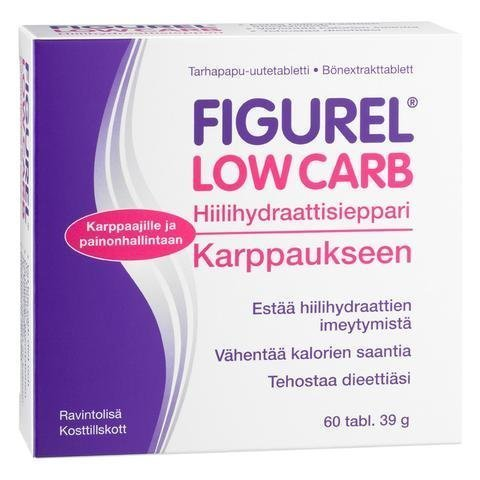 Figurel Low Carb Hiilihydraattisieppari