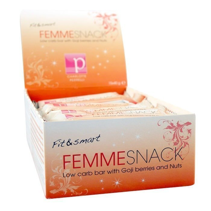 Fit & Smart 15 x Fit & smart Femmesnack 40 g