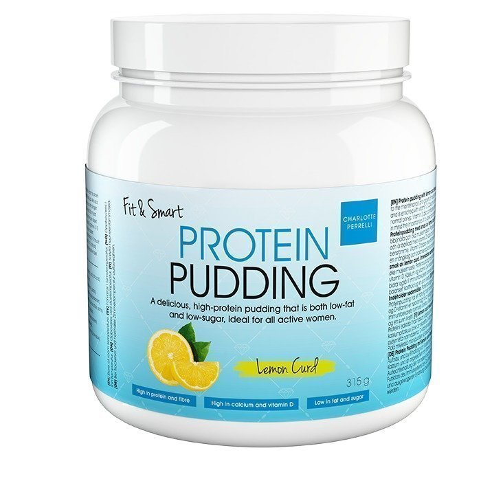 Fit & Smart Protein Pudding 315 g Lemon Curd
