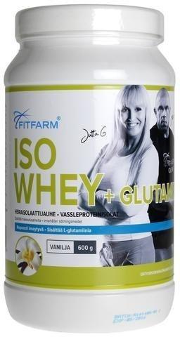Fitfarm Isowhey + Glutamine Vanilja