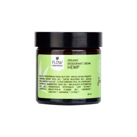 Flow Kosmetiikka Deodoranttivoide Hamppu