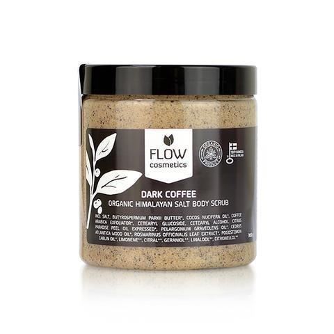 Flow Kosmetiikka Himalajansuolakuorinta Tumma Kahvi