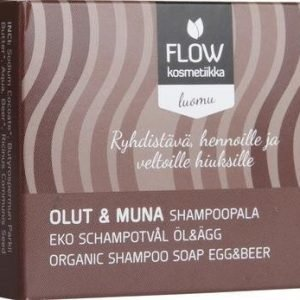 Flow Kosmetiikka Shampoopala Olut Ja Muna
