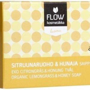 Flow Kosmetiikka Sitruunaruoho & Hunaja Saippua