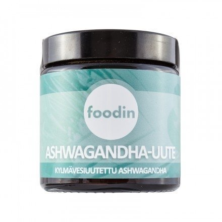 Foodin Ashwagandha -uute