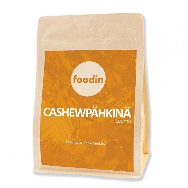 Foodin Cashewpähkinä luomu