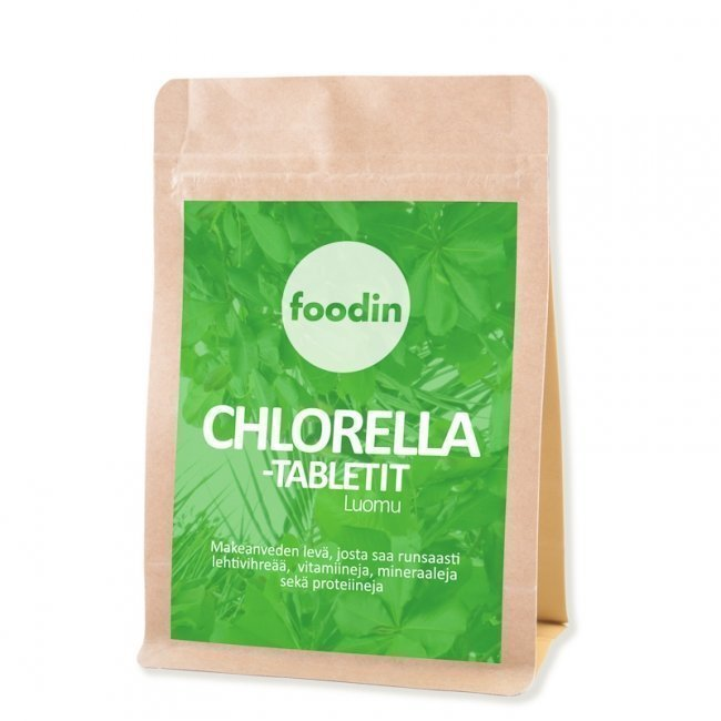 Foodin Chlorella-tabletit