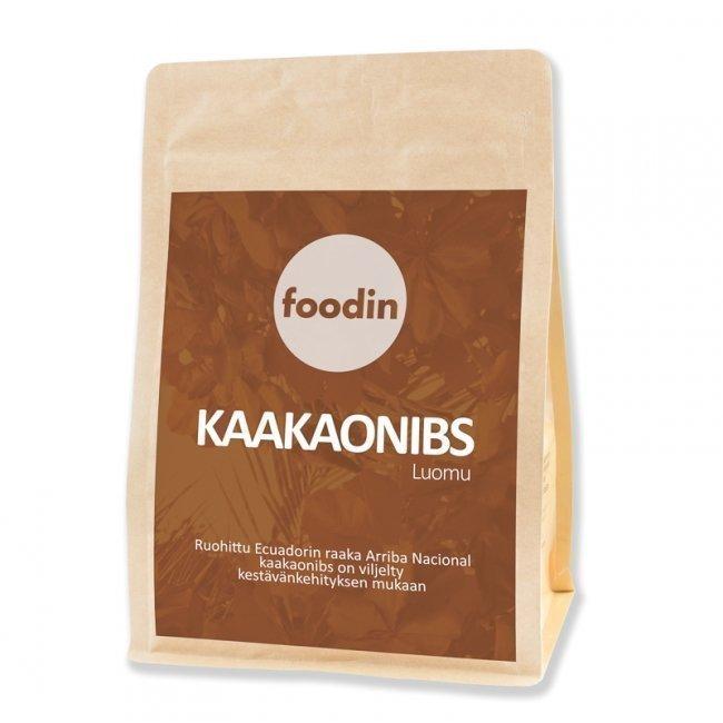 Foodin Kaakaonibs luomu