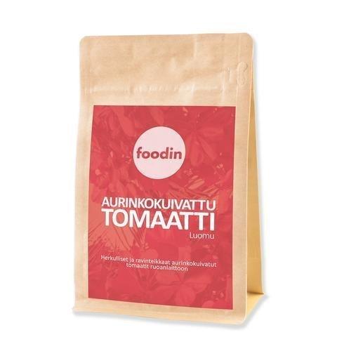Foodin Luomu Aurinkokuivattu Tomaatti
