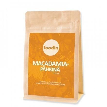 Foodin Luomu Macadamiapähkinä