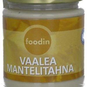 Foodin Luomu Vaalea Mantelitahna