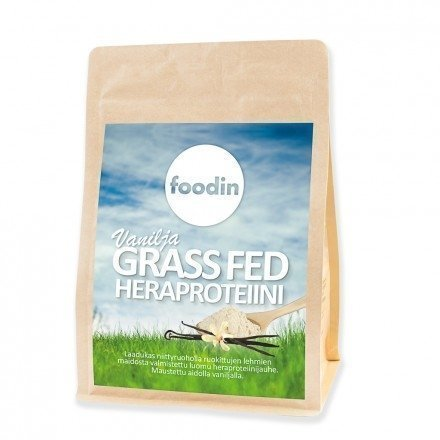 Foodin Vanilja Grassfed Heraproteiini