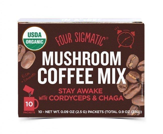 Four Sigma Foods Instant Mushroom Coffee Cordyceps