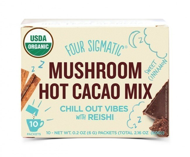 Four Sigma Foods Mushroom Hot Cacao Mix - Reishi