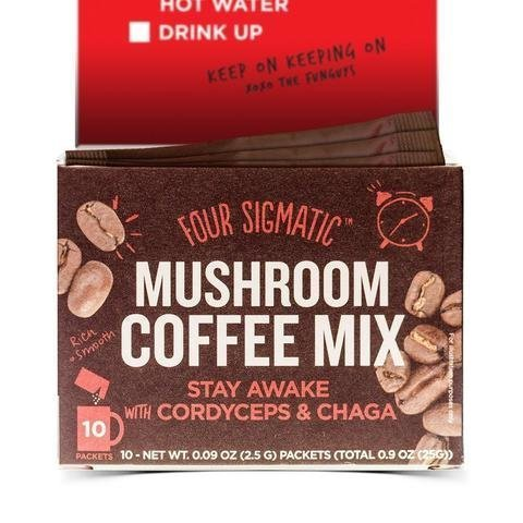 Four Sigmatic Instant Mushroom Coffee Cordyceps