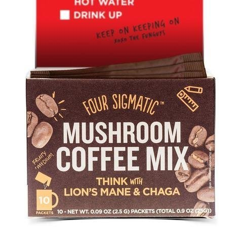 Four Sigmatic Instant Mushroom Coffee Lions Mane