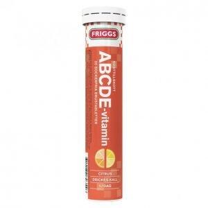 Friggs Abcde-Poretabletti 20kpl
