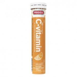 Friggs C-Vitamiini Poretabletti 20kpl