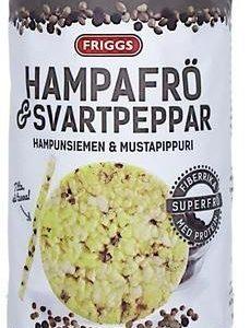 Friggs Ohut Maissikakku Hampunsiemen & Mustapippuri