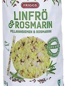 Friggs Ohut Maissikakku Pellavansiemen & Rosmariini