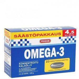 Friggs Omega-3 135kpl