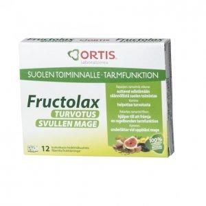 Fructolax Turvotus Hedelmäkuituvalmiste 12 Kpl 120 G