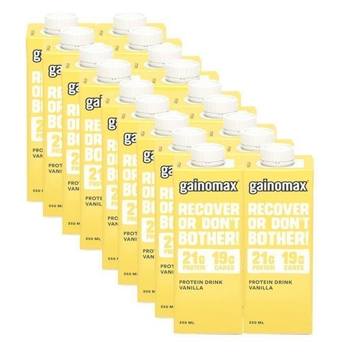 Gainomax 18 x Gainomax Protein Drink 250 ml