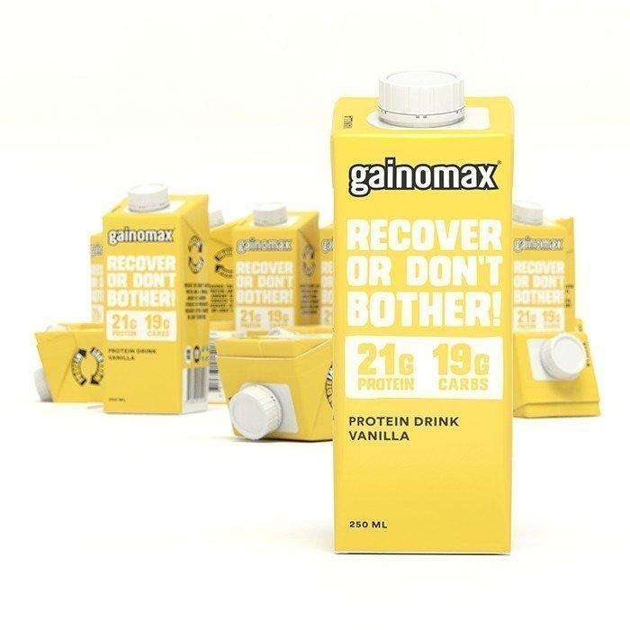 Gainomax Protein Drink 250 ml Vanilla