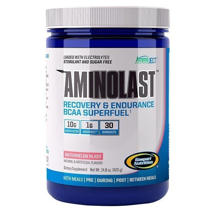 Gaspari Aminolast 420 g Orange Mango