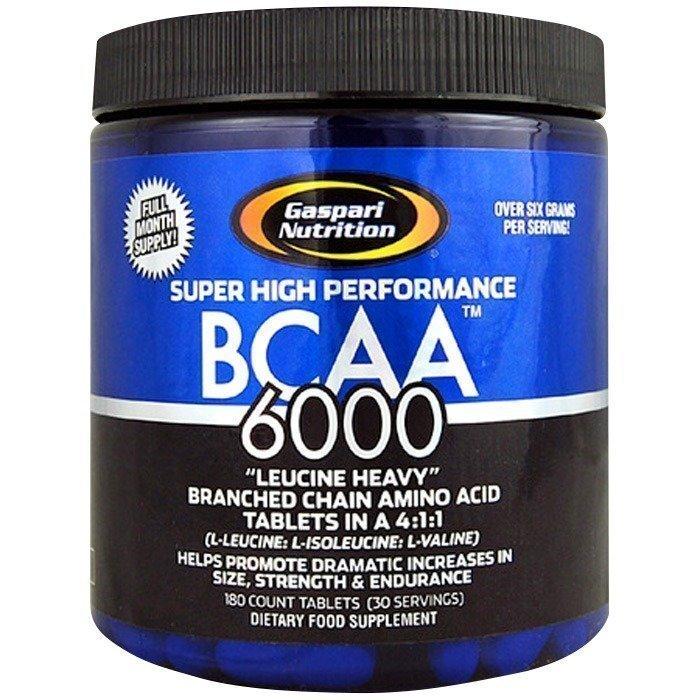 Gaspari BCAA 6000 180 kapselia