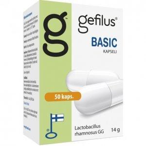 Gefilus Basic Maitohappobakteeri 50kpl