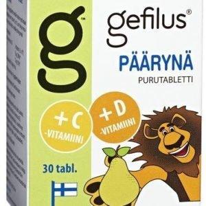 Gefilus + D Purutabletti Päärynä