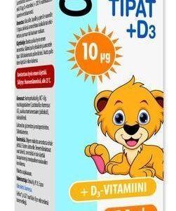 Gefilus Tipat + D3-Vitamiini