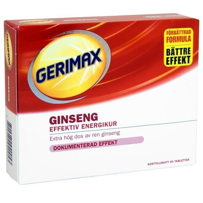 Gerimax Ginseng 60 tabletter