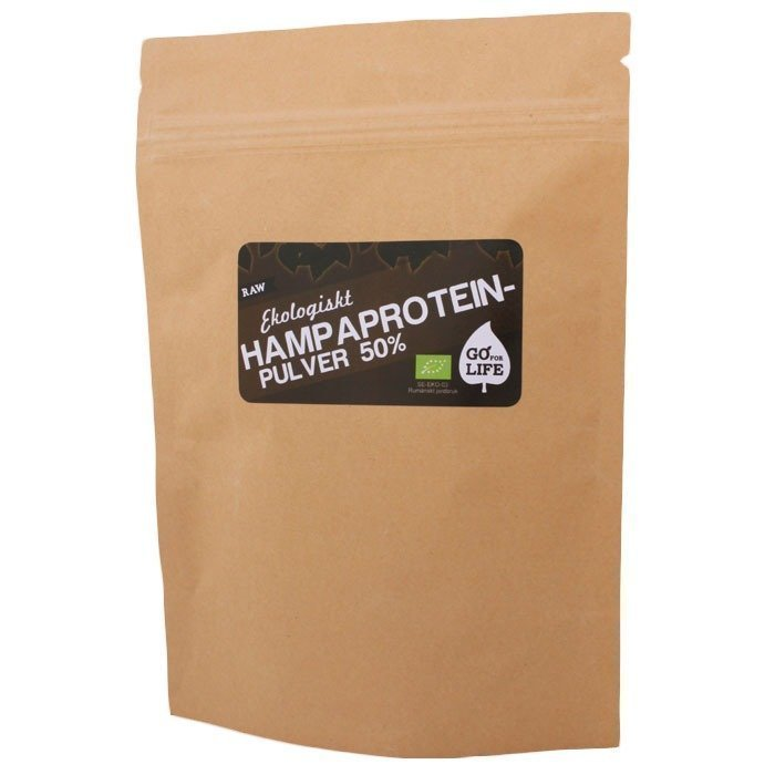 Go For Life Raw Hampaprotein 50 % 150 gram