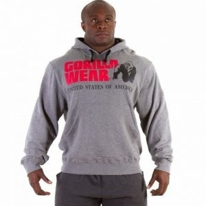 Gorilla Wear Classic Hooded Top harmaa