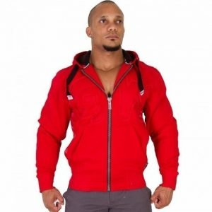Gorilla Wear Logo Hooded Jacket punainen