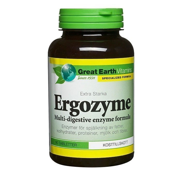 Great Earth Ergozyme 90 tablettia