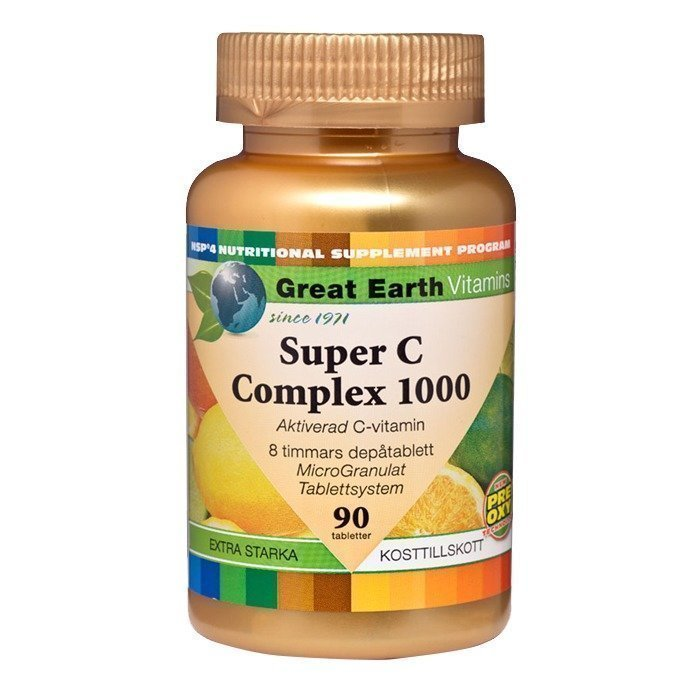 Great Earth Super C-Complex 1000 mg 90 tabs