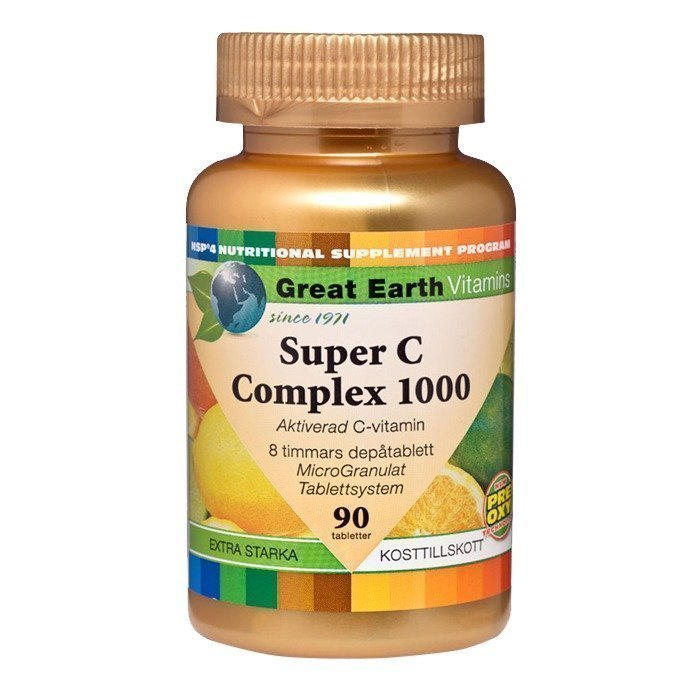 Great Earth Super C-Complex 1000 mg