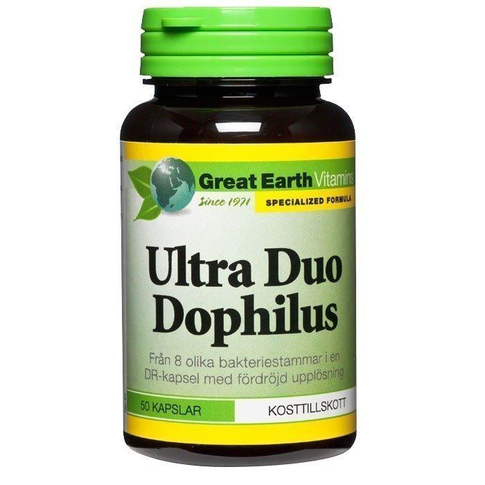 Great Earth Ultra Duo Dophilus 50 kapselia