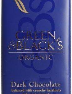 Green & Black Luomu Hassel-Korintti Tummasuklaa