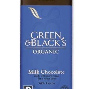 Green & Black Luomu Maitosuklaa