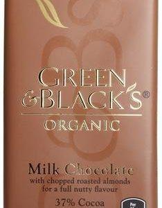 Green & Black Luomu Mantelisuklaa