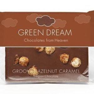 Green Dream Luomu Maitosuklaa Hasselpähkinä