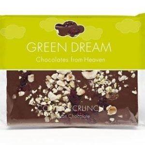 Green Dream Luomu Maitosuklaa Hedelmä & Pähkinä