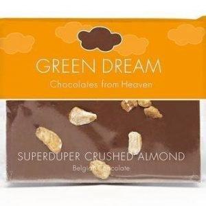 Green Dream Luomu Maitosuklaa Manteli