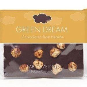 Green Dream Luomu Tumma Suklaa Hasselpähkinä